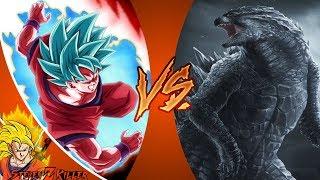 GOKU vs GODZILLA! (Dragon Ball Super vs Godzilla) Cartoon Fight Club Episode 216 REACTION!!!