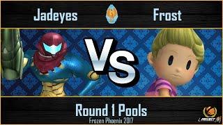 Frozen Phoenix 2017: FROST|Jadeyes (Samus) vs Frost (Lucas) Pools