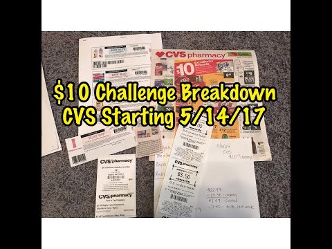 CVS $10 Challenge 5/14/17 BREAKDOWN | Only Pay Tax!