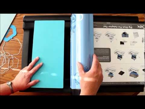 How to use Genius Ultimate Platform in Sizzix Big Shot PRO