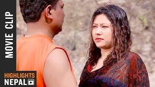 Taruni Dekhesi - Nepali Movie MISSION KHELADI Scene
