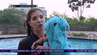 Mikaila Patritz Ajarkan Anak Berenang Sejak Dini