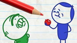 """Applecalypse Now"" Pencilmation Cartoons"
