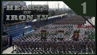 Hearts of Iron IV Millennium Dawn - Iran Iraq War #1/2 - Alexander The Great