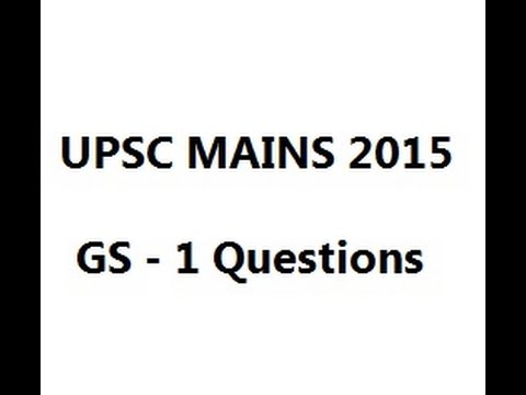 UPSC 2015 Mains Q: sex ratio in Tribes in India is more favourable than  Scheduled Castes