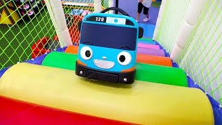 Tayo Bus Real Life Indoor Playground Video for Kids Family Fun Toys Pretend Play 타요 버스 키즈카페