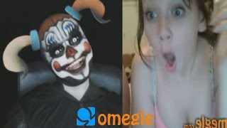 Five Night's at Freddy's Sister Location - Baby goes on Omegle!