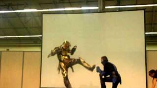 Cosplay mortal combat/Tomb Raider