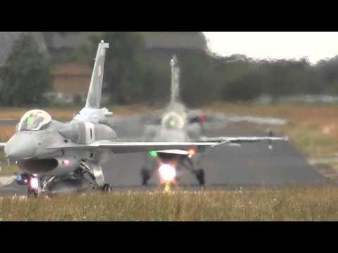 Takeoffs Second Wave NATO Tigermeet Schleswig-Jagel 24-06-2014