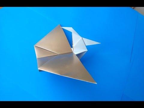Простые оригами а4
