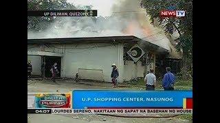 BP: U.P. Shopping Center, nasunog