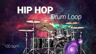 Free HIP HOP DRUM LOOP 100 bpm