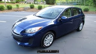 2012 Mazda3 Skyactiv Hatchback 6-spd Start up, Exhaust, Test Drive, and In Depth Review