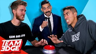 YouTuber Feud!   Team Edge vs. Cam and Jeff!!