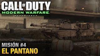 Call of Duty: Modern Warfare Remastered - Misión #4 - El Pantano (Español / Sin Comentario)