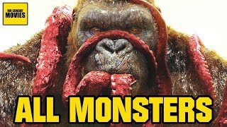 All Monsters In The Godzilla & Kong Monsterverse