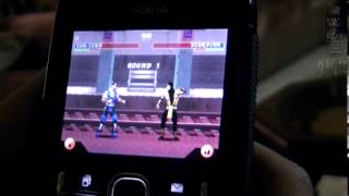 Nokia Asha 200 Mortal Kombat 3 java game
