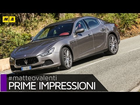 Maserati Ghibli restyling 2017 (+ Multi70 Soldini) | Primo test [ENGLISH SUB]