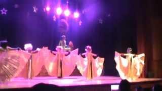 Funcion Teatro Model Dance alas y abanico 2015
