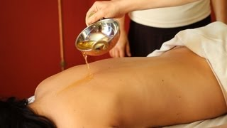 How to Use Massage Oil | Ayurvedic Massage