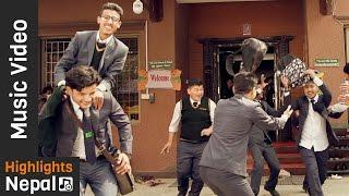 College Days   Mero Adhar   New Nepali Pop Song   Rudra Raj Khadka 2017/2073
