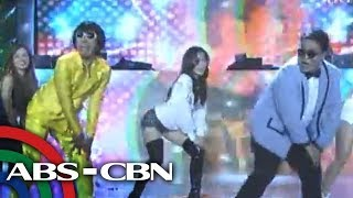 Cristine sizzles in dance number with Teddy, Jugs
