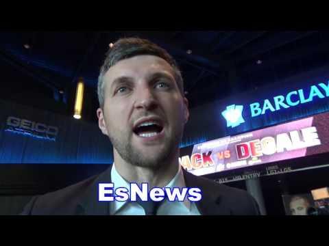 Carl Froch Rips Andre Ward talks GGG Canelo Klitschko Joshua EsNews Boxing
