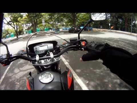 1ª aula primeiro contato com a moto Durvalcareca