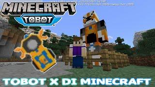 TOBOT X DI MINECRAFT!!!! | Addon Minecraft Tobot X