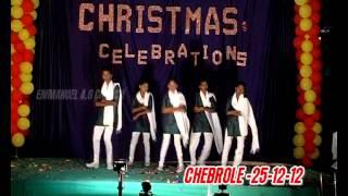 NEW TELUGU LATEST CHRISTIAN CHRISTMAS SONG-VINTAINA THARAKA-BY EAG Girls-davidson gajulavarthi