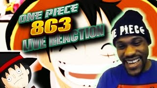 LIFE OR PEEK!!!! | One Piece Chapter 863 Group Live Reaction