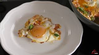 How To Plate one of the Most Viewed Eggs Recipe on Youtube