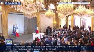 Suivez La Conférence D'Emmanuel Macron Sur BFMTV