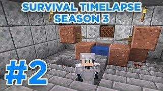 AFK Fish Farm! | Minecraft Survival Timelapse Season 3 Episode 2 | GD Venus |
