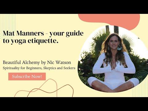 Xxx Mp4 Mat Manners Your Guide To Yoga Etiquette 3gp Sex