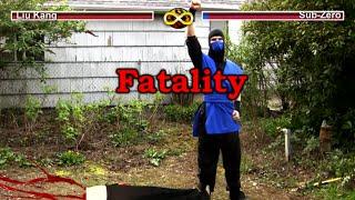 REAL MORTAL KOMBAT - Real Mortal Kombat: Video Game Flaws (MK Parody)