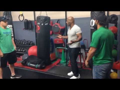Johny Hendricks traning with Iron Mike Tyson for Lawler fight