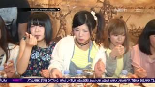 Keseruan Kevin Aprilio Saat Perkenalkan Masakan Indonesia Dihadapan Enka Girls