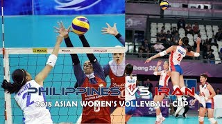 Philippines vs Iran Volleyball Highlights, Scores and Statistics - 2018 Asian Women