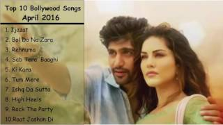 Top 10 Bollywood Songs 2016   April 2016   Latest Songs Jukebox     YouTube 720p