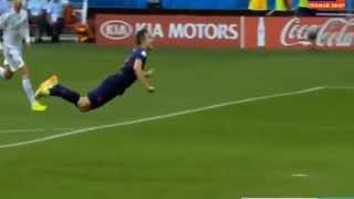 Van Persie incredible gooool!!!! Olandezul zburator!!!