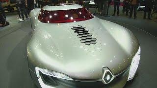 Geleceğin arabaları Paris Otomotiv Fuarı