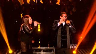 X Factor Finals - Melanie Amaro and R. Kelly -- I Believe I Can Fly