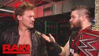 Kevin Owens attempts to win back his best friend: Raw, Dec. 5, 2016