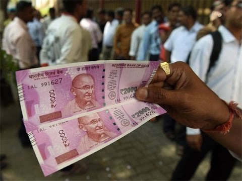 NEW Indian Rs 2000 Rupee Notes GPS Testing with Mobile Scan app. of indian currency