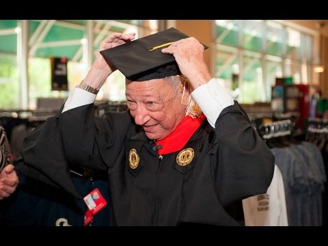 86-Year-Old Man Prepares for Georgia Tech Commencement
