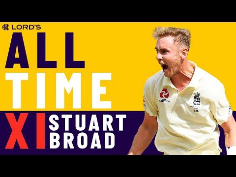 watch Tendulkar, Lara & Hadlee - Stuart Broad's All Time XI