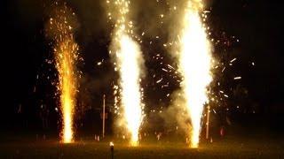 Test Vulkane Jorge vs. Panda Lucifer vs. Bugano (Zink) Neuheiten 2012