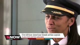 First African-American female airline captain
