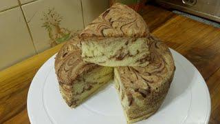 Marble Sponge Cake/ মার্বেল স্পজ কেক রেসিপি/Cake Recipe/Sponge Cake Recipe